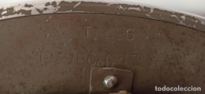 Militaria: Casco original y completo usado en la WWII por el Ejercito Inglés Tommy Modelo MKII - Foto 10 - 206916521