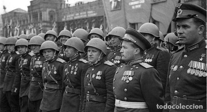 Militaria: Original casco de la antigua Unión Soviética URSS modelo 40 IIGM 2aGM Stalnoy Shelm 40 CIII40 - Foto 12 - 206919581
