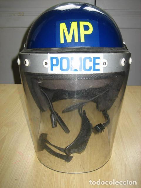 CASCO POLICIA ANTIDISTURBIOS INGLES.T56-58 (Militar - Cascos Militares )