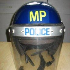 Militaria: CASCO POLICIA ANTIDISTURBIOS INGLES.T56-58. Lote 207815706