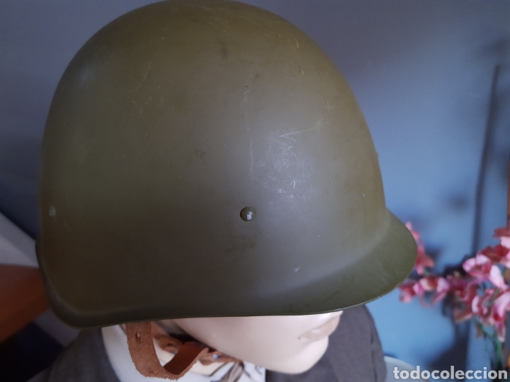 CASCO RUSO SH40 WW2, FABRICADO EN LOS AÑOS 50. URSS CCCP (Militar - Cascos Militares )