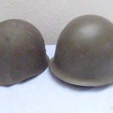 Militaria: * ANTIGUO CASCO Y SU SOTOCASO MILITAR FRANCES, ORIGINAL. FRANCIA. ZX. Lote 209058902