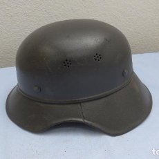 Militaria: * ANTIGUO CASCO ALEMAN GLADIATOR DE 2A GUERRA MUNDIAL, ALEMANIA, ORIGINAL. ZX. Lote 209060142