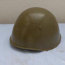 Militaria: * ANTIGUO RARO CASCO MILITAR A IDENTIFICAR. ZX. Lote 209202287