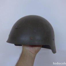 Militaria: ANTIGUO CASCO ESPAÑOL MODELO 1921 SIN ALAS DE GUERRA CIVIL, ORIGINAL, REUTILIZADO.. Lote 209606978