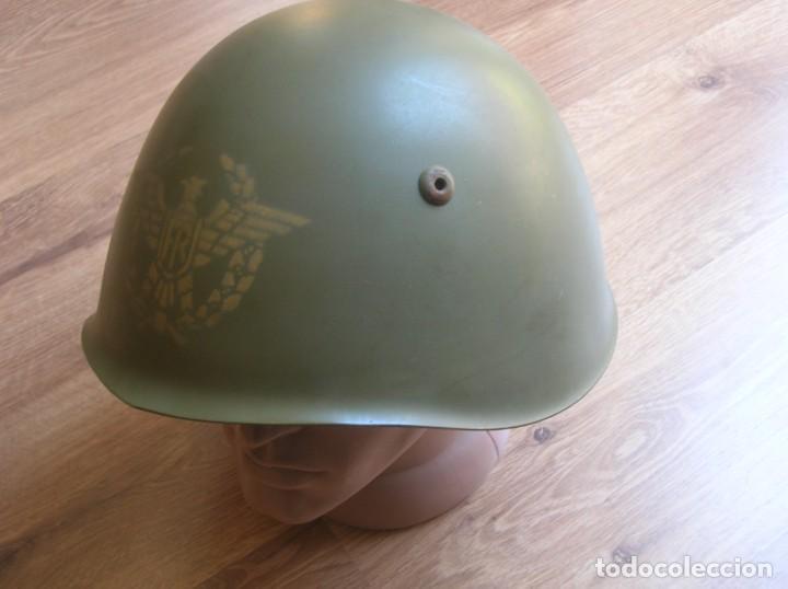 Militaria: EXCEPCIONAL Y RARO CASCO DE GENERAL DEL EJERCITO ITALIANO. TALLA 58. ITALIA. - Foto 2 - 210470990