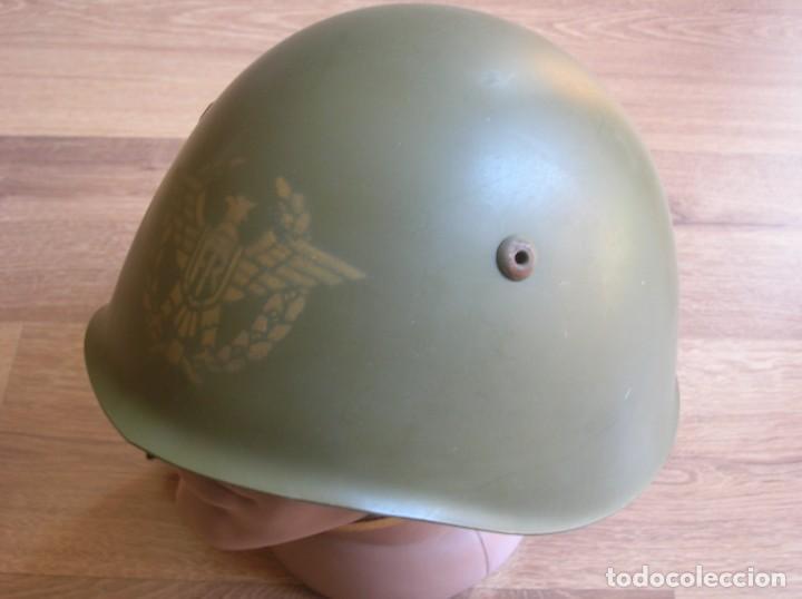 Militaria: EXCEPCIONAL Y RARO CASCO DE GENERAL DEL EJERCITO ITALIANO. TALLA 58. ITALIA. - Foto 4 - 210470990