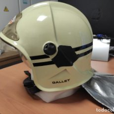 Militaria: CASCO GALLET DE BOMBERO DE BRUSELAS, EN PERFECTAS CONDICIONES. Lote 210529122