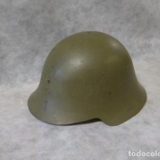 Militaria: ANTIGUO CASCO AZAÑA DE GUERRA CIVIL, ORIGINAL. Lote 214768693