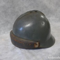 Militaria: ANTIGUO CASCO FRANCES DE CARRISTA MARCADO DE 1945, JEAN D'ARC, II GUERRA MUNDIAL. FRANCIA.. Lote 214768773