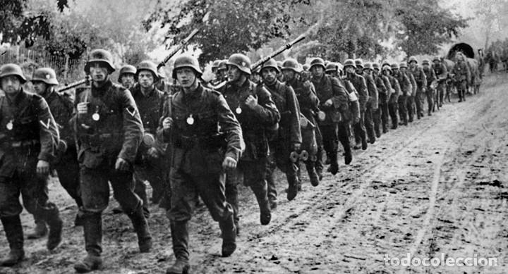 Militaria: Casco Aleman de Combate M35 Wehrmacht Combate Original M35 WWII - Foto 20 - 215370407