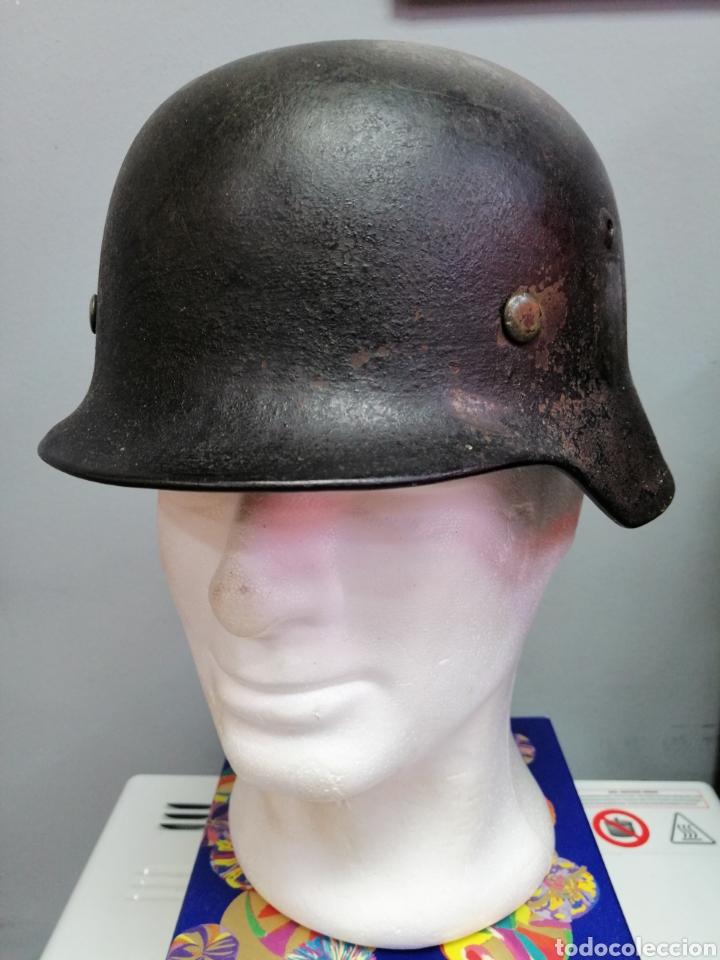 CASCO ALEMAN DE COMBATE M35 WEHRMACHT COMBATE ORIGINAL M35 WWII (Militar - Cascos Militares )
