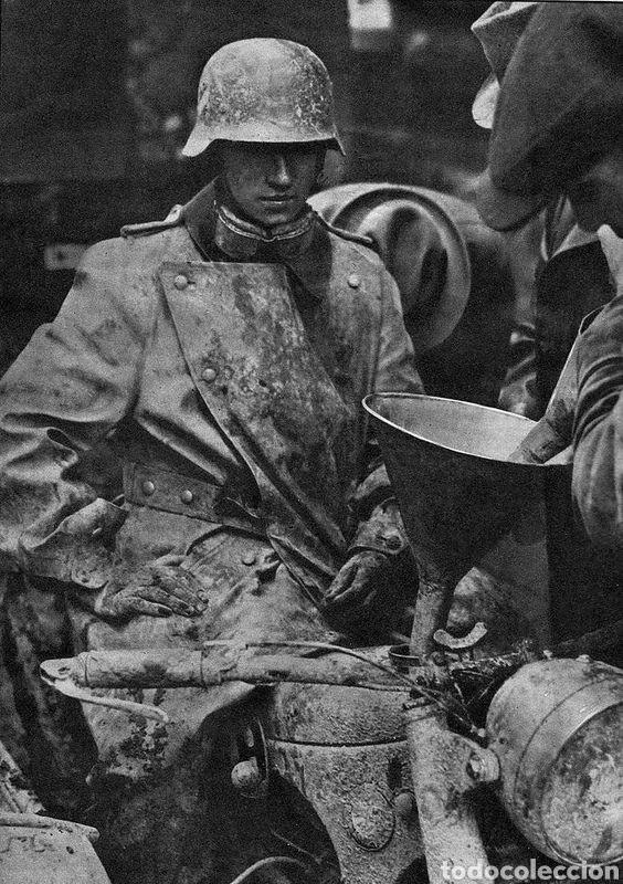 Militaria: Casco Aleman de Combate Modelo 42 Camuflaje Tropical Original WWII - Foto 16 - 215615872