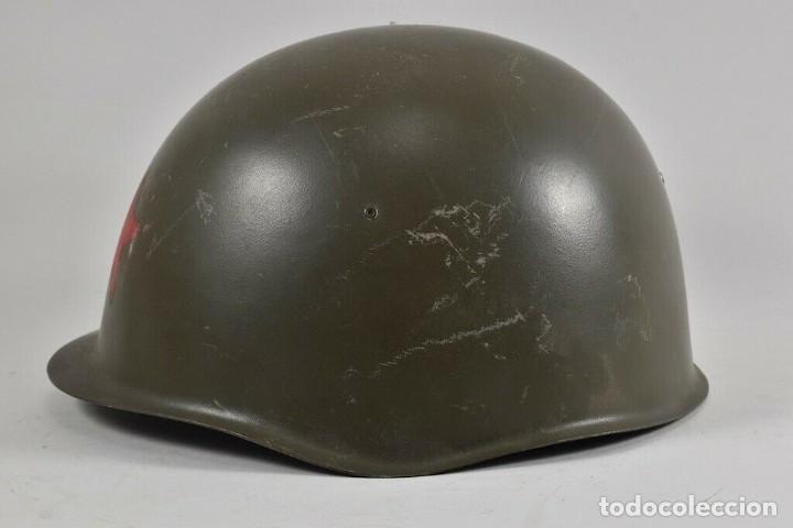 Militaria: ANTIGUO CASCO URSS ª GUERRA MUNDIAL TAMBIÉN USADO EN LA REPÚBLICA CHECA 170,00 € - Foto 2 - 215680538