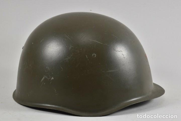 Militaria: ANTIGUO CASCO URSS ª GUERRA MUNDIAL TAMBIÉN USADO EN LA REPÚBLICA CHECA 170,00 € - Foto 5 - 215680538