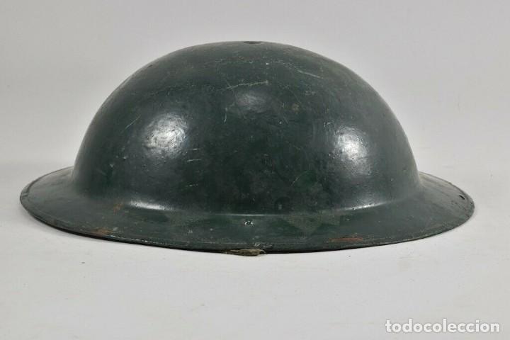 Militaria: ORIGINAL PERFECTO MKII 1935 Y ANTIGUO CASCO MEDIDAS. 11x28x31 cm MAGNIFICO 394,00 € - Foto 3 - 215681470