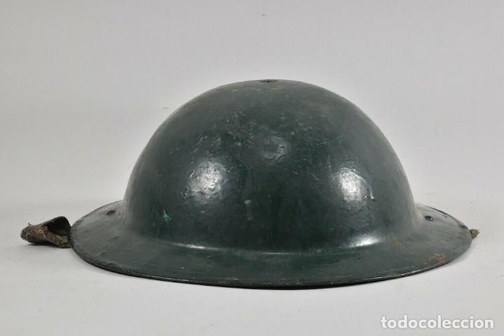 Militaria: ORIGINAL PERFECTO MKII 1935 Y ANTIGUO CASCO MEDIDAS. 11x28x31 cm MAGNIFICO 394,00 € - Foto 4 - 215681470