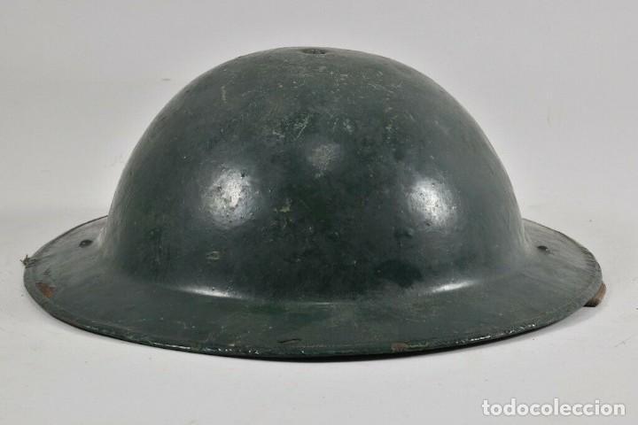 Militaria: ORIGINAL PERFECTO MKII 1935 Y ANTIGUO CASCO MEDIDAS. 11x28x31 cm MAGNIFICO 394,00 € - Foto 5 - 215681470