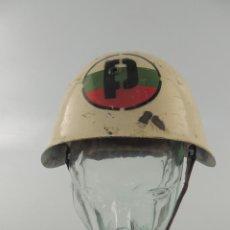 Militaria: ANTIGUO CASCO MODELO ITALIANO BLANCO FABRICADO PARA BULGARIA SEGUNDA GUERRA MUNDIAL. Lote 215920655