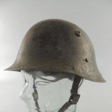 Militaria: ANTIGUO CASCO MODELO ALEMÁN FABRICADO PARA BULGARIA MODELO SEGUNDA GUERRA MUNDIAL. Lote 215920750