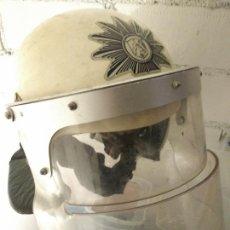 Militaria: CASCO POLICIA ANTIDISTURBIOS ESPAÑA CUERPO NACIONAL POLICÍA ESPAÑOLA. Lote 216880086