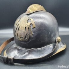 Militaria: ANTIGUO CASCO DE BOMBERO AÑOS 30. Lote 218667792