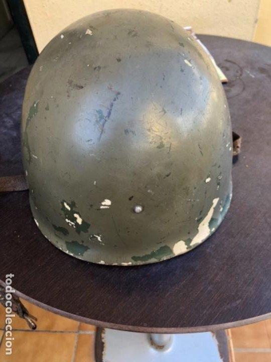 Militaria: Bonito casco antiguo a identificar - Foto 2 - 218873563