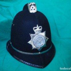 Militaria: CASCO BRITÁNICO (BOBBY HELMET) DE STAFFIRDSHIRE POLICE,. Lote 219318347