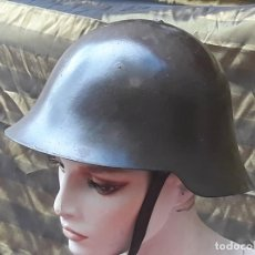 Militaria: CASCO MILITAR METALICO COMPLETO.. Lote 219335685