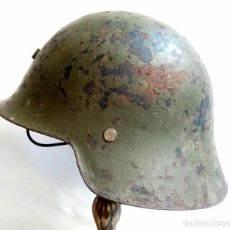 Militaria: CASCO EJÉRCITO ESPAÑOL TRUBIA - ORIGINAL GUERRA CIVIL. Lote 219841005