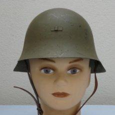 Militaria: CASCO TRUBIA MODELO 38 AZAÑA ( GUERRA CIVIL ) CON AGUILA. Lote 220084023
