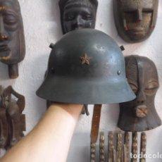 Militaria: ANTIGUO CASCO CHECO REPUBLICANO DE GUERRA CIVIL, ORIGINAL.. Lote 221104601