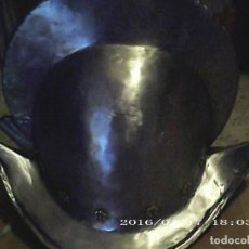 Militaria: MORRIÓN ESTILO ITALIANO EXCLUSIVO 40 X 34 CM ALTURA. Lote 221325312