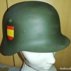 Militaria: CASCO ALEMÁN DIVISIÓN AZUL (SEGUNDA GUERRA MUNDIAL). Lote 222153772