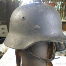 Militaria: CASCO ALEMAN M40 NORMANDIA, SEGUNDA GUERRA MUNDIAL. Lote 222218436