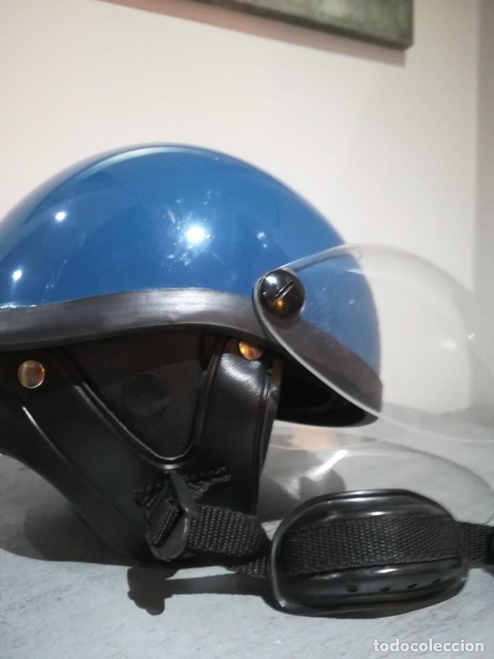 Militaria: Casco los grises completo con cogotera tranquismo policia armada transicion españa antidisturbios - Foto 15 - 222334532
