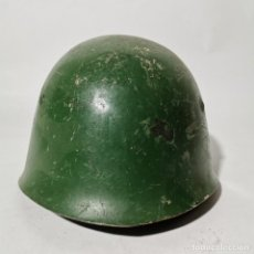 Militaria: ANTIGUO CASCO MILITAR RUSO URSS - RUSIA - ORIGINAL - AÑOS 40 - SEGUNDA GUERRA MUNDIAL ? - 2. Lote 222977002