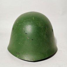 Militaria: ANTIGUO CASCO MILITAR RUSO URSS - RUSIA - ORIGINAL - AÑOS 40 - SEGUNDA GUERRA MUNDIAL ? - 3. Lote 222977041
