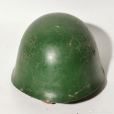 Militaria: ANTIGUO CASCO MILITAR RUSO URSS - RUSIA - ORIGINAL - AÑOS 40 - SEGUNDA GUERRA MUNDIAL ? - 4. Lote 222977182