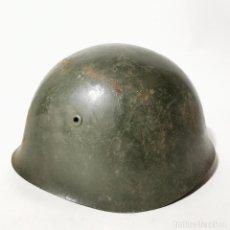 Militaria: ANTIGUO CASCO MILITAR RUSO URSS - RUSIA - ORIGINAL - AÑOS 40 - SEGUNDA GUERRA MUNDIAL ? - 6. Lote 222977453
