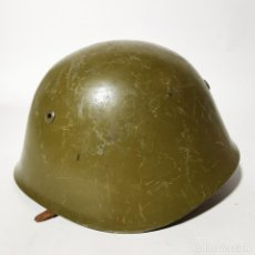 Militaria: ANTIGUO CASCO MILITAR RUSO URSS - RUSIA - ORIGINAL - AÑOS 40 - SEGUNDA GUERRA MUNDIAL ? - 7. Lote 222977550