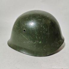 Militaria: ANTIGUO CASCO MILITAR RUSO URSS - RUSIA - ORIGINAL - AÑOS 40 - SEGUNDA GUERRA MUNDIAL ? - 9. Lote 222977720