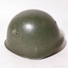 Militaria: ANTIGUO CASCO MILITAR RUSO URSS - RUSIA - ORIGINAL - AÑOS 40 - SEGUNDA GUERRA MUNDIAL ? - 16. Lote 222978441