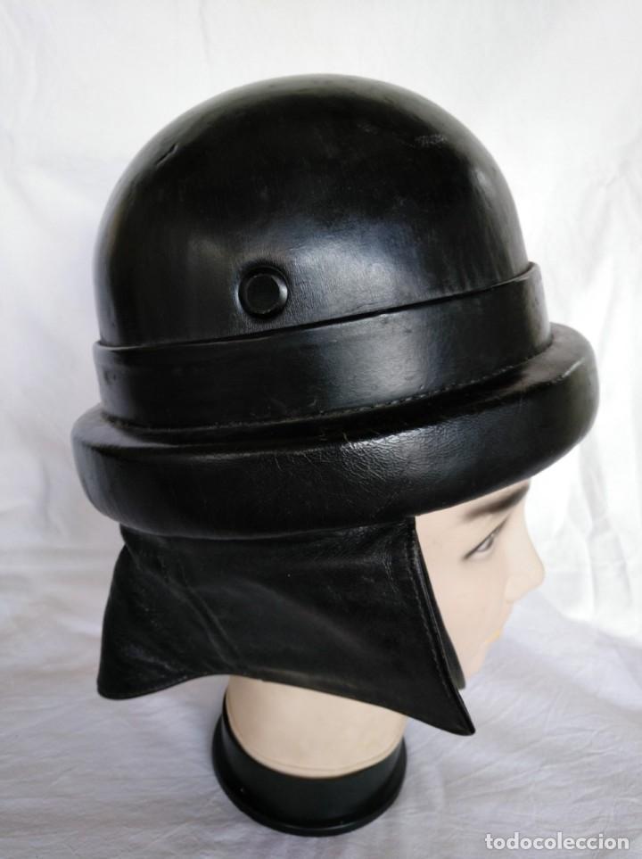 Militaria: CASCO DE CARRISTA ITALIANO, Mod. 1935. - Foto 4 - 223684057