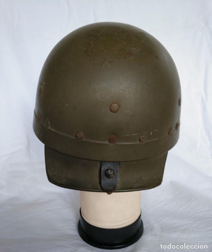 Militaria: CASCO DE TANQUISTA FRANCÉS, Mod. 1958 - Foto 4 - 223684551