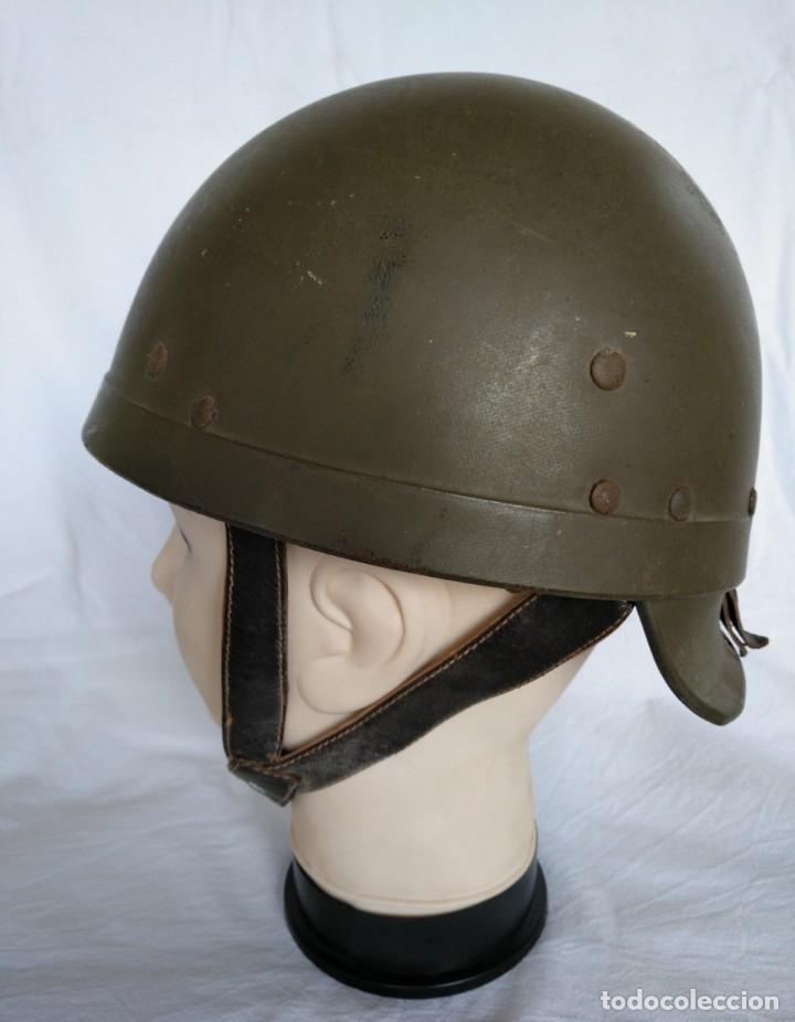 Militaria: CASCO DE TANQUISTA FRANCÉS, Mod. 1958 - Foto 5 - 223684551