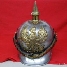 Militaria: CASCO CASCO DE CABALLERIA HELMET PRUSIAN 1889. Lote 224379152