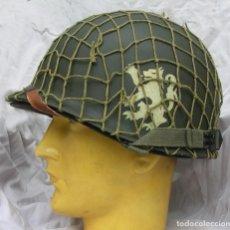 Militaria: CASCO M1 505TH REG. 82 AIRBORNE DIV. + RED. Lote 224425320