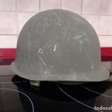 Militaria: ANTIGUO DOBLE CASCO MILITAR. Lote 224729440