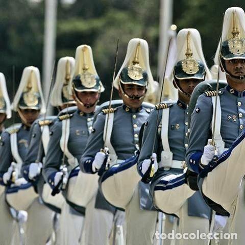 Militaria: IMPRESIONANTE CASCO DE GALA, DE LA ACADEMIA MILITAR DE VENEZUELA, (AMEJ). NUEVO A ESTRENAR. - Foto 11 - 111949343